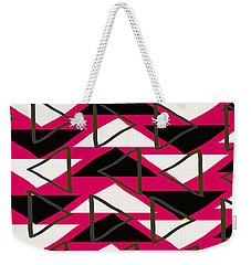 Triangles Weekender Tote Bag