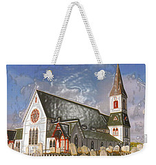 Weekender Tote Bag featuring the photograph Trinity  by Lydia Holly