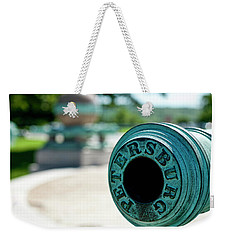 Trophy Point Cannon Weekender Tote Bag