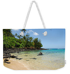 Weekender Tote Bag featuring the photograph Tropical Paradise by Lynn Bauer