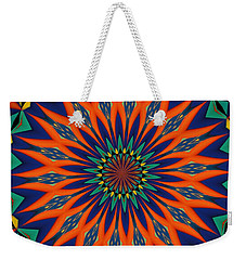 Tropical Punch Weekender Tote Bag by Alec Drake