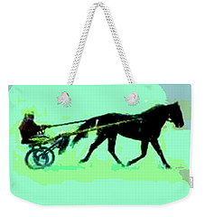 Weekender Tote Bag featuring the photograph Trotter by George Pedro