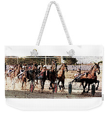 Weekender Tote Bag featuring the photograph Trotting 3 by Pedro Cardona