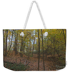 Weekender Tote Bag featuring the photograph Tryon Park by William Norton