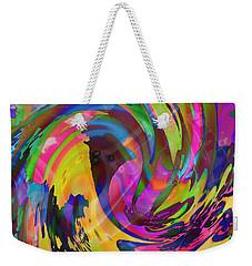 Tsunami Weekender Tote Bag by Kevin Caudill