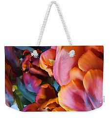 Tulip 01 Weekender Tote Bag by Ann Bridges
