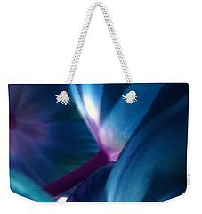 Tulip Blues Weekender Tote Bag