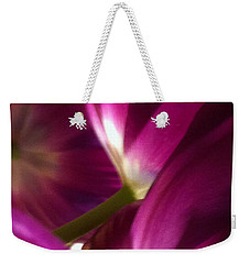 Tulip Weave Weekender Tote Bag