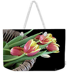 Tulips From The Garden Weekender Tote Bag
