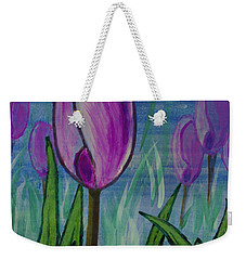 Tulips In The Mist Weekender Tote Bag