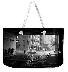 Weekender Tote Bag featuring the photograph Tunnel I by Lynn Palmer