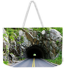 Tunnel On A Lonely Road Weekender Tote Bag