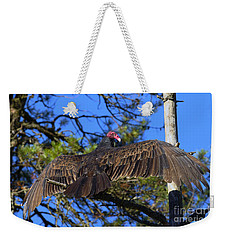 Turkey Vulture With Wings Spread Weekender Tote Bag