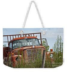 Turned Out To Pasture Weekender Tote Bag by Wilma  Birdwell