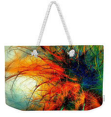 Twilight In The Garden Weekender Tote Bag by Klara Acel