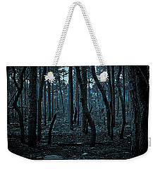 Weekender Tote Bag featuring the photograph Twilight In The Smouldering Forest by DigiArt Diaries by Vicky B Fuller