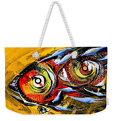 Two Around The World Weekender Tote Bag