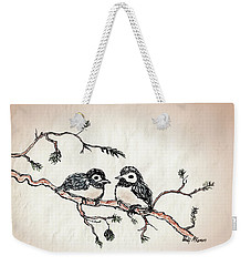 Two Birds Weekender Tote Bag