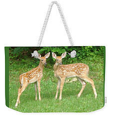 Two Little Deer Weekender Tote Bag