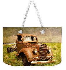 Two Ton Truck Weekender Tote Bag by Alyce Taylor