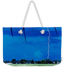 Weekender Tote Bag featuring the photograph Underneath- My Fears by Janie Johnson
