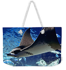 Underwater Flight Weekender Tote Bag by DigiArt Diaries by Vicky B Fuller