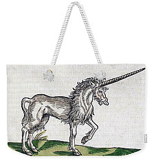 Unicorn Weekender Tote Bag by Science Source