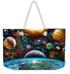 Universal Light Weekender Tote Bag by Adrian Chesterman