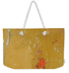Untitled Abstract - Ochre Cinnabar Weekender Tote Bag