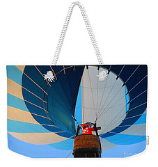 Weekender Tote Bag featuring the photograph Up Into The Blue. Oshkosh 2012. by Ausra Huntington nee Paulauskaite