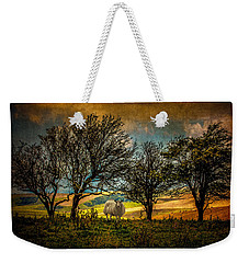 Weekender Tote Bag featuring the photograph Up On The Sussex Downs In Autumn by Chris Lord