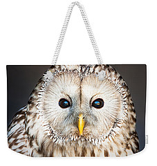 Ural Owl Weekender Tote Bag by Tom Gowanlock