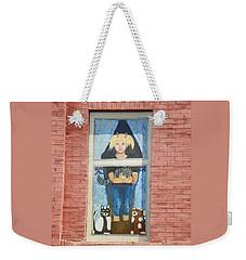 Urban Window 2 Weekender Tote Bag by Lenore Senior
