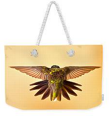 Weekender Tote Bag featuring the photograph Usaf Hummingbirds Wings by Randall Branham