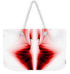 Weekender Tote Bag featuring the photograph V by Theodore Jones