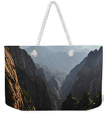 Valley In Huangshan Weekender Tote Bag