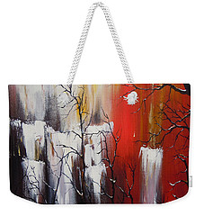 Valley Of Shadows Weekender Tote Bag