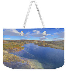 Valley Stream 2 Weekender Tote Bag