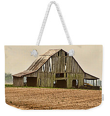 Weekender Tote Bag featuring the photograph Vanishing American Icon by Debbie Portwood