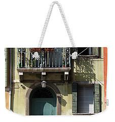 Venetian Doorway Weekender Tote Bag by Carla Parris