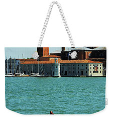 Venice Gandola Weekender Tote Bag