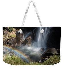 Vernal Falls Rainbow On Mist Trail Yosemite Np Weekender Tote Bag