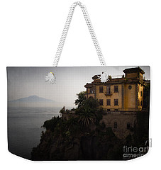 Vesuvius From Sorrento Weekender Tote Bag