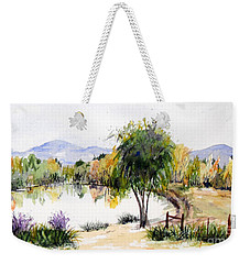 View Outside Reno Weekender Tote Bag