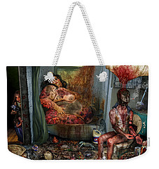 Vile World To View Weekender Tote Bag
