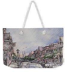 Village Weekender Tote Bag