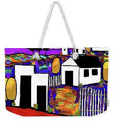 Village Weekender Tote Bag