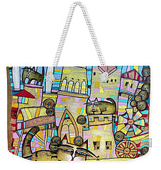 Villages Of My Childhood Weekender Tote Bag