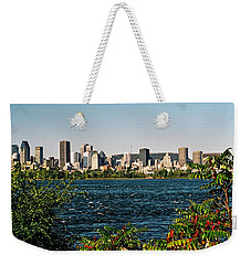 Weekender Tote Bag featuring the photograph Ville De Montreal by Juergen Weiss