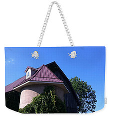 Weekender Tote Bag featuring the photograph Vineyard by Tiffany Erdman